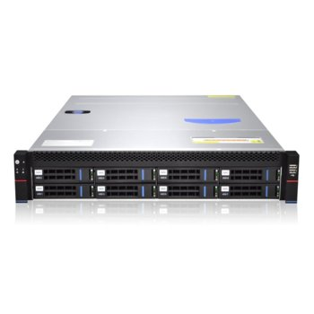 """Кутия Gooxi RMC2108-670-HS-R800, 2U Rack Mount, 8x 3.5""""/2.5"""" SATA/SAS Hot Swap, 800W 80+ Platinum захранване image"""