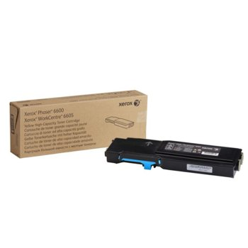 КАСЕТА ЗА XEROX Phaser 6600/WC 6605 - Cyan - P№ 106R02233 - заб.: 6000k image