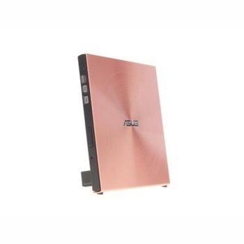 Оптично устройство Asus SDRW-08U5S-U, външна, USB 2.0, розова image