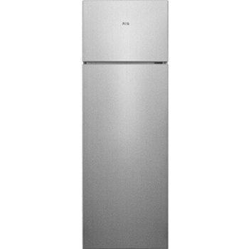 Хладилник с горна камера AEG RDB428E1AX, клас E, 242L, свободностоящ, 181 kWh/годишно, сив image