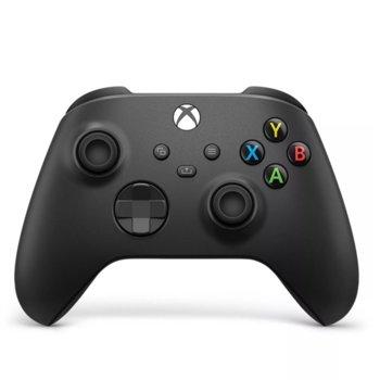 Геймпад Microsoft Xbox Series X Carbon Black, безжичен, за PC/Xbox Series X/S, Bluetooth, USB Type-C, черен image
