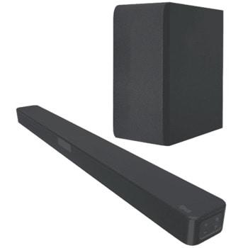 Soundbar система LG SN4, 2.1, Bluetooth, USB, HDMI, 300W, черен image