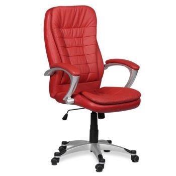 Директорски стол Carmen 6013, вишнево-червен image