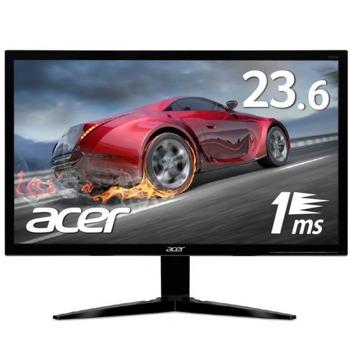 """Монитор Acer KG241Qbmiix UM.UX1EE.001, 23.6"""" (59.94 cm) TN панел, 75 Hz, Full HD, 1ms, 100 000 000:1, 300 cd/m2, HDMI, VGA  image"""