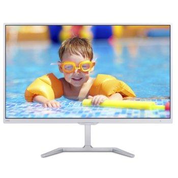 """Монитор 23.6"""" (59.94 cm) Philips E Line 246E7QDSW, PLS панел, Full HD, 5ms, 20 000 000:1, 250 cd/m², HDMI, DVI image"""