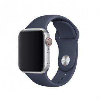 Каишка за смарт часовник Apple Watch (40mm) Midnight Blue Sport Band - S/M & M/L, синя image