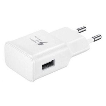 Мрежово зарядно устройство E-TA20EWE, от контакт към 1x USB Type A(ж), 5V/2.0A, 9V/1.6A, бяло image