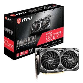 MSI RX 5500 XT Mech 8G OC product