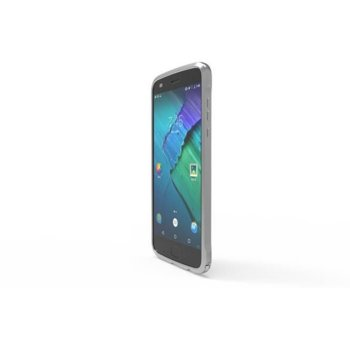 Калъф за Motorola Z2 Play, метален Bumper, сив  image