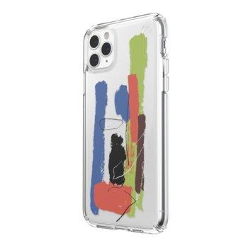 Калъф за Apple iPhone 11 Pro Max, поликарбонатов, Speck Presidio Clear 130028-8534, прозрачен с щампа image