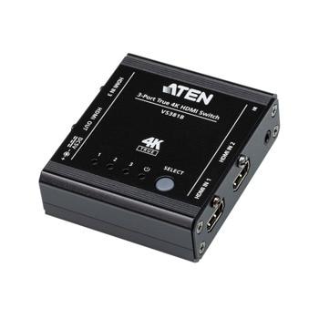 HDMI сплитер Aten VS381B, от HDMI(ж) към 3x HDMI(ж), до 4К(3840x2160@60Hz) резолюция image