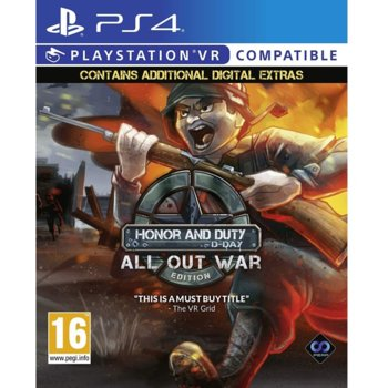 Игра за конзола Honor and Duty: D-Day All Out War Edition, за PS4 image