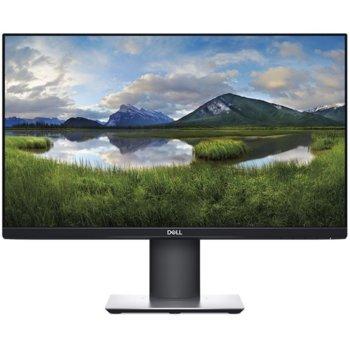 """Монитор Dell P2319H, 23"""" (58.42 cm) IPS панел, Full HD, 8ms, 1000:1, 250cd/m2, DisplayPort, HDMI, VGA, USB image"""