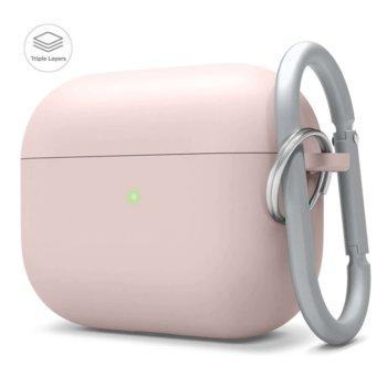 Калъф за слушалки Elago Liquid Hybrid Hang Case EAPPRH-HANG-PK, за Apple AirPods Pro, силиконов, розов image