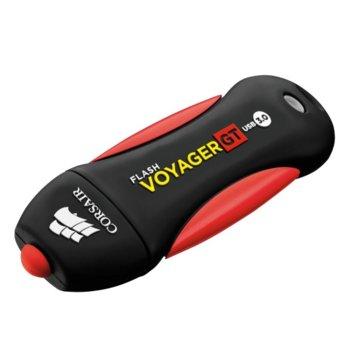 Памет 32GB USB Flash Drive, Corsair Voyager GT, USB 3.0, черен image