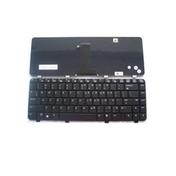 Клавиатура за HP 500 HP 520, черна, US image