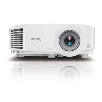 Проектор BenQ MH733, DLP, 1080p, 16 000:1, 4000 ANSI Lumens, VGA, HDMI, USB (type A), LAN control (RJ45)keystone, Corner fit, Speaker, 3D Ready image