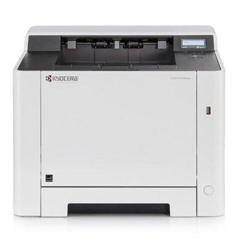 Лазерен принтер Kyocera ECOSYS P5021cdn, цветен, 9600 x 600 dpi, 21 стр/мин, LAN1000, USB 2.0, SD/SDHC Slot, А4 image
