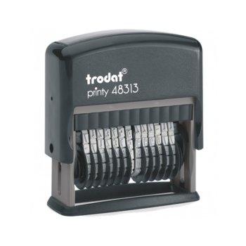 Номератор Trodat, 13 цифри, височина на шрифта 3.8 mm image