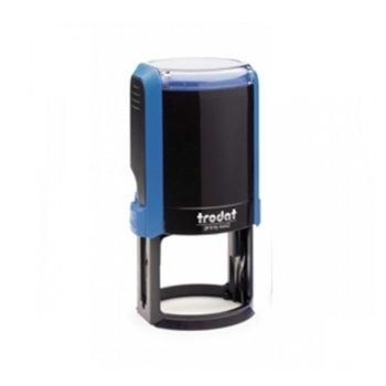 Автоматичен печат Trodat 4642 син, Ф42 mm, кръгъл image