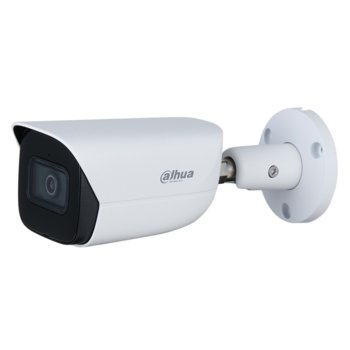 "IP камера Dahua IPC-HFW3241E-AS-0280B, насочена ""bullet"" камера, 2MP Mpix(1920x1080@25FPS), 2.8mm обектив, H.265+/H.265/H.264, IR осветеност (до 50 м.), външна IP67 защита от вода, LAN, PoE, MicroSD 256 GB слот image"
