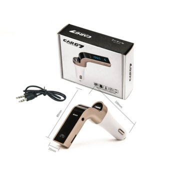 FM Трансмитер Earldom M7, Bluetooth, USB, 2.5A, различни цветове image
