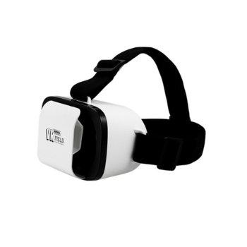 """Очила за виртуална реалност Remax Field RT-VM02, регулируеми лещи, подплатени окуляри, съвместими с телефони с диагонал от 4,7"""" до 6"""" image"""