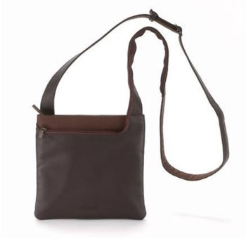 Чанта за аудио устройства TUCANO BFIMIN-M Fina Mini, MP3, iPod, естествена кожа, кафява image