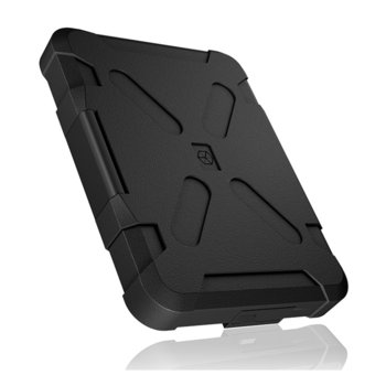 """Кутия 2.5"""" (6.35 cm), RaidSonic IB-278U3, за 2.5"""" SATA HDD/SSD, USB 3.0, водоустойчива и прахоустойчива, черна image"""