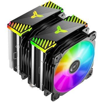 Охлаждане за процесор Jonsbo CR-2000 ARGB, съвместимост с Intel LGA 1200/1151/1150/1155/1156/775 & AMD AM4/AM3+/AM3/AM2+/AM2/FM2+/FM2/FM1 image