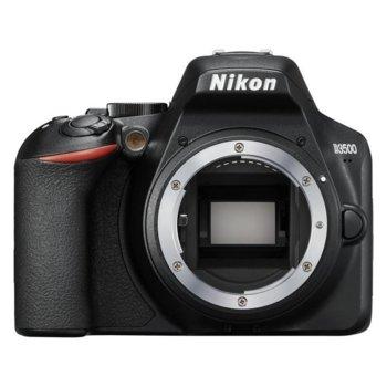 "Фотоапарат Nikon D3500 в комплект с обектив Nikon DX 35mm, 24.2 Mpix, 3.0"" (7.62 cm) TFT дисплей, SDXC/HC, HDMI, USB, Bluetooth image"