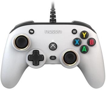 Геймпад Nacon Xbox Series Pro Compact, безжичен, bluetooth, Windows/Xbox, бутони за програмиране, бял image