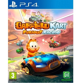 Игра за конзола Garfield Kart: Furious Racing, за PS4 image