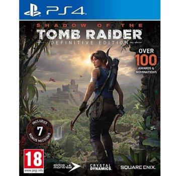 Игра за конзола Shadow of the Tomb Raider - Definitive Edition, за PS4 image