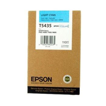 Глава за Epson Stylus Pro 4000/7600/9600 - Light Cyan - P№ C13T543500 - Заб.: 110 ml. image