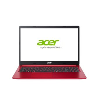 "Лаптоп Acer Aspire 5 A515-54G-38DW (NX.HN9EX.001)(червен), двуядрен Comet Lake Intel Core i3-10110U 2.1/4.1 GHz, 15.6"" (39.62 cm) Full HD IPS Anti-Glare Display & GF MX250 2GB, (HDMI), 8GB DDR4, 1TB HDD, 1x USB 3.1 Gen 1 Type-C, Linux image"