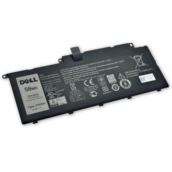 Батерия (оригинална) за лаптоп Dell, съвместима с Inspiron series, 4-cell, 14.8V, 3900mAh image