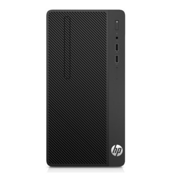 Настолен компютър HP 290 G1 (1QM97EA), двуядрен Kaby Lake Intel Pentium G4560 3.50 GHz, 4GB DDR4, 500GB HDD, 4x USB 3.0, клавиатура и мишка, Free DOS image