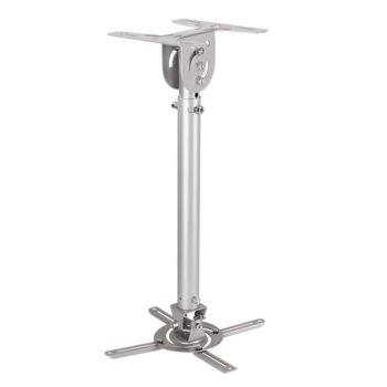 Стойка за проектор Hama 108785, за таван, въртене на 90°, L размер, 4 подвижни рамена, до 8кг image