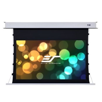 """Екран Elite Screens ETB100HW2-E12, за стена, CineWhite, 2214 x 1245 мм, 100"""" (254 cm), 16:9 image"""
