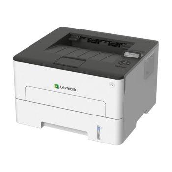 Лазерен принтер Lexmark B2236dw, монохромен, 600 x 600 dpi, 34 стр/мин, LAN, Wi-Fi, USB, A4, Duplex image