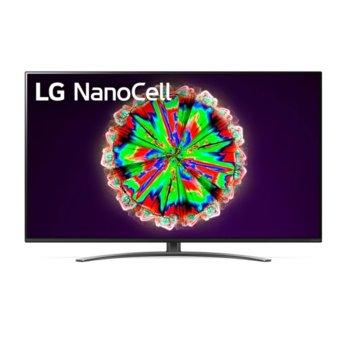 "Телевизор LG 55NANO813NA, 55"" (139.7 cm) 4K/UHD HDR Smart TV, DVB-T2/C/S2, Wi-Fi, LAN, Bluetooth, 4x HDMI, 2x USB image"