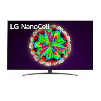 "Телевизор LG 55NANO813NA, 55"" (139.7 cm) 4K/UHD HDR Smart TV, DVB-T2/C/S2, Wi-Fi, LAN, Bluetooth, 4x HDMI, 2x USB, енергиен клас G image"