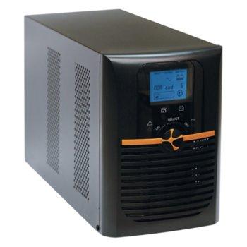 UPS TUNCMATIK NEWTECH PRO II X9, 3000VA/2700W, On-Line, Mini Tower, LCD Display image