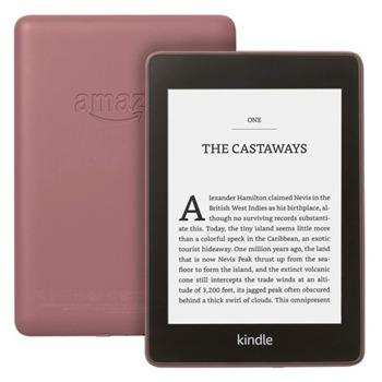 "Електронна книга Kindle Paperwhite 2018 г.(лилав), 6"" (15.24 cm) сензорен екран, процесор 1Ghz, 256MB RAM, 8GB Flash памет, WiFi 802.11n, Linux, 206g image"