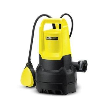 Помпа за вода Karcher SP 1 Dirt, 259 W, 5500 l/h дебит, до 7 метра дълбочина, жълта/черна image