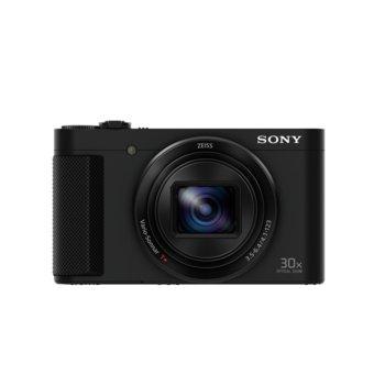 "Фотоапарат Sony Cyber Shot DSC-HX90V (черен), 18.2Mpix, ZEISS Vario-Sonnar T* 30x Optical Zoom, 3.0""(7.62cm) Xtra Fine LCD дисплей, вграден Wi-Fi/NFC, GPS, microHDMI, SDXC слот, USB, Li-Ion батерия image"