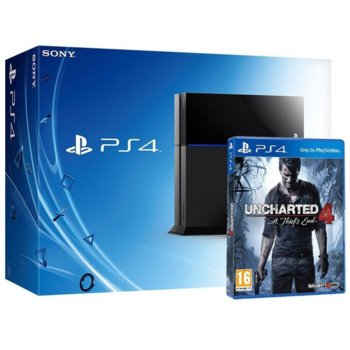 Sony PlayStation 4 Uncharted 4 500GB HD product