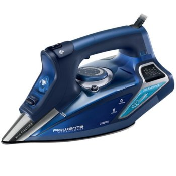Ютия Rowenta DW9240F1, паров удар 230 г/мин, променлива пара 65 г/мин, Функция самопочистване, система против котлен камък, 3100 W, синя image