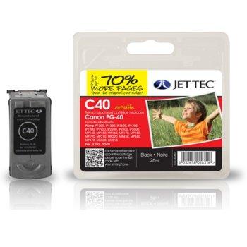 Глава за Canon Pixma iP1600/2200 - Black - CL-40 - Неоригинална - Jet Tec - Заб.: 26ml image